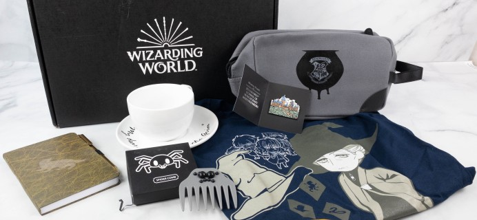 JK Rowling's Wizarding World Crate July 2021 PROFESSORS' LOUNGE! Review + Coupon