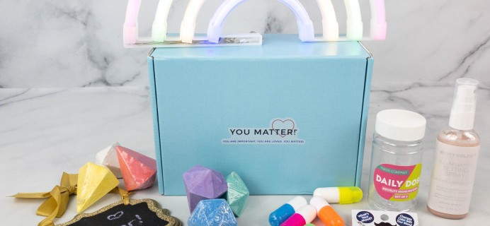 You Matter Box October 2021 Subscription Box Review